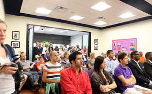 The Center for Sexual and Gender Diversity held its grand opening on Sept. 27.