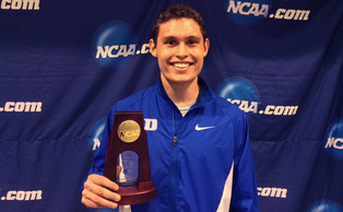Redshirt senior Curtis Beach earned the second national championship of his career by capturing the hepathlon at the NCAA Indoor Track and Field Championships.
