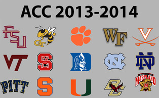 With the inclusion of Notre Dame, Pittsburgh and Syracuse, the ACC's membership grows to 15. (Chronicle graphic by Eric Lin)