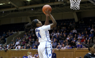 After playing the role of a defensive stopper for the first two years of her career, Ka'lia Johnson found a way to take on a larger role in Duke's offense.