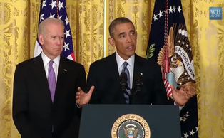 President Barack Obama announced the It's On Us sexual assault awareness campaign in a video last week.