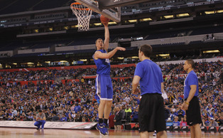 Backup center Marshall Plumlee is looking to do what his brothers did five years ago—contribute off the bench during a national championship run.