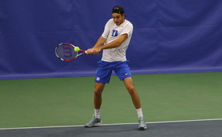 Senior Raphael Hemmeler tallied his 102nd career doubles win Friday against Wake Forest.