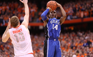 Rasheed Sulaimon's buzzer-beating 3-pointer sent the game into overtime at the Carrier Dome.