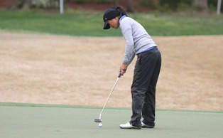 Junior Celine Boutier and the Blue Devils could not fight back to the top of the leaderboard, finishing tied for seventh.