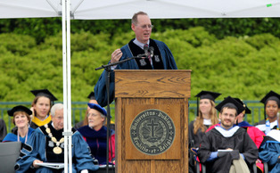 Commencement speaker Paul Farmer' address was met with a wave of criticism on social media Sunday.