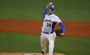Duke ace Michael Matuella will take the mound in Friday's series opener against Boston College.