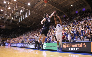 Sophomore Matt Jones had a career-high 17 points in Sunday's 90-60 victory against No. 10 Notre Dame.
