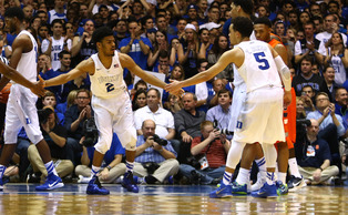 Quinn Cook (pictured above) and Sean Kelly (not pictured) will be the Blue Devils' lone seniors playing in their final home game at Cameron Indoor Stadium Wednesday.