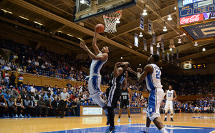 Freshman Jahlil Okafor will be the centerpiece of the 2014-15 Blue Devil squad and provide Duke with its first dominant post presence in years.
