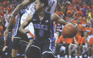 Senior Quinn Cook is coming off a 15-point performance in Duke's upset of then-No. 2 Virginia and will look to stay hot against Georgia Tech.