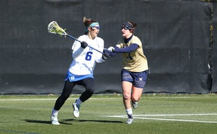 Senior Brigid Smith and the Blue Devils will look to move to 10-0 with a win Saturday at Virginia.