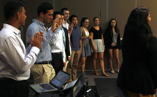 The new members of the Duke Student Government Research Unit were confirmed at the DSG Senate meeting Wednesday.
