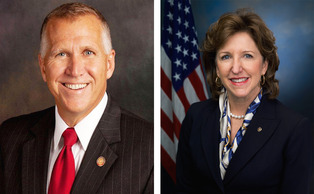 Last week, Speaker of the N.C. House Thom Tillis (left) released two campaign ads attacking incumbent Senator Kay Hagan (right) on her decisions concerning foreign policy crises in the Middle East.