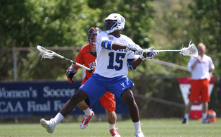 Junior Myles Jones—recently named a Tewaaraton Award finalist—leads Duke into the NCAA tournament against Ohio State Saturday night.