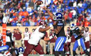 Quarterback Anthony Boone will look to improve on his NFL combine performance at Duke's Pro Day later this spring.