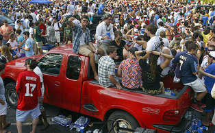 The University canceled Tailgate in Fall 2010 after an incident with a minor, much to the dismay of some of the student body.