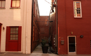 Alley 26, pictured above, will soon be home to small start-ups and businesses after the conclusion of a major reconstructive project.