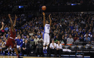 Senior Quinn Cook's two critical 3-pointers in the second half helped break the game open for the Blue Devils.