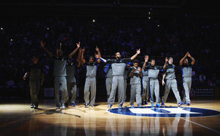 This year's edition of Countdown to Craziness will feature an array of new faces, as the Blue Devils will introduce the No. 1 recruiting class in the nation of Jahlil Okafor, Tyus Jones, Grayson Allen and Justise Winslow.
