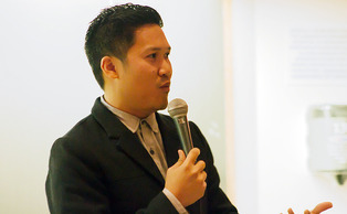 "Dante Basco, voice actor for ""Avatar: The Last Airbender"" and ""Jake Long: American Dragon,"" speaks about being an Asian-American artist at this year's Triangle-Area Asian Student Conference."