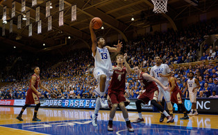 Sophomore Matt Jones and the Blue Devil bench provided a much-needed boost in Saturday's win against Boston College.