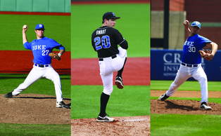 Duke pitchers James Marvel, Trent Swart and Michael Matuella have all had Tommy John surgery since April 2014. Matuella and Marvel were both selected in the 2015 MLB draft.