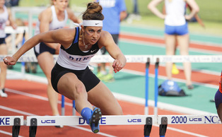 Teddi Maslowski and a stable of other Duke multi-event competitors will look to earn spots on the podium this weekend.