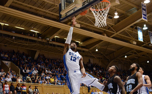Freshman Justise Winslow and the Blue Devils will look to continue their hot shooting Saturday against Central Missouri.