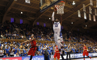 Freshman Justise Winslow led the Blue Devils in scoring for the second-straight game with a game-high 17 points Saturday.