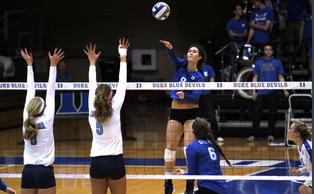 Junior Emily Sklar and the Blue Devils will try to get back to their winning ways against Clemson Friday.