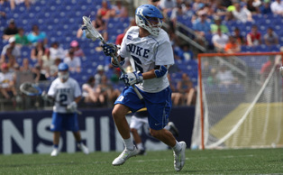 Senior Will Haus is a two-time Honorable Mention All-America and will look to lead the Blue Devils to their third straight national title