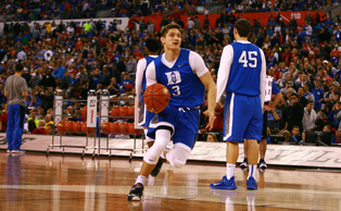 Grayson Allen will have a much bigger role Saturday against Michigan State than he did in the teams' first meeting back in November.