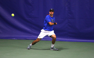 Redshirt senior Chris Mengel clinched the match for Duke as he continues to work his way back from injury.