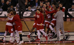 Wisconsin pulled off its version of the Miracle on Ice Saturday night against Kentucky.
