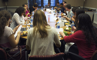 Although Sushi Love is still the top choice for many, the Duke University Student Dining Advisory Committee discussed other possible vendors for Merchants on Points at their Monday meeting.