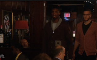 Miles Plumlee cameos along with fellow Indiana Pacer Roy Hibbert on this week's episode of Parks and Recreation on NBC.