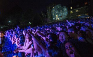 Students enjoyed Old Duke festivities last year.