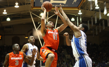 Tyler Ennis made plenty of plays at the Carrier Dome, but shot just 2-of-13 at Cameron Indoor Stadium.