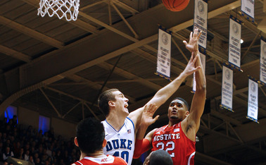 Despite limited minutes, Marshall Plumlee has also frequently found himself in foul trouble for the Blue Devils.