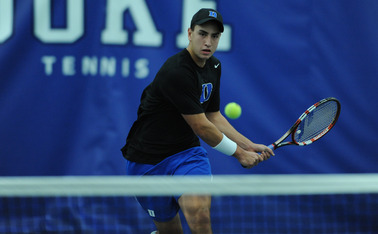 Freshman Nicolas Alvarez will lead Duke against Virginia Sunday.