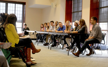 LGBTQ students discussed their experiences in the greek community.