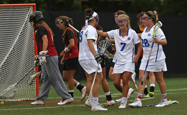Duke assisted on 11 of its 17 goals in Sunday's win against Southern California.