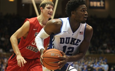 Freshman Justise Winslow led the Blue Devils in scoring for the second-straight game, pouring in 17 points against Central Missouri Saturday.