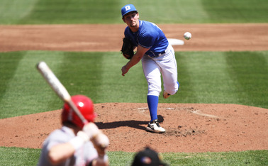 After putting up nine runs against Duke Friday, Swart held Florida State in check all day for the Blue Devils.