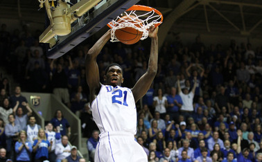 Amile Jefferson added eight points and eight rebounds providing key hustle plays in Duke's victory.