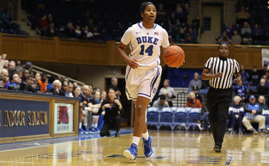 Senior Ka'lia Johnson and the Blue Devils will look to slow things down and minimize turnovers Sunday against the Seminoles.