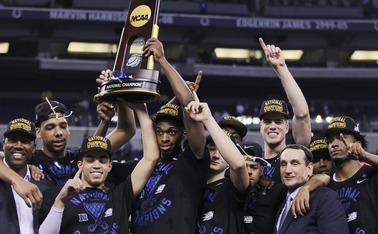 The Blue Devils claimed their fifth national title and second in the last five years in Indianapolis Monday night.