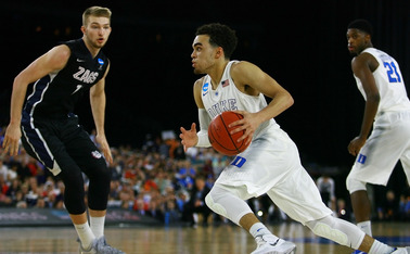 Freshman Tyus Jones will look to lead Duke to its first national championship game appearance since 2010 Saturday against Michigan State.
