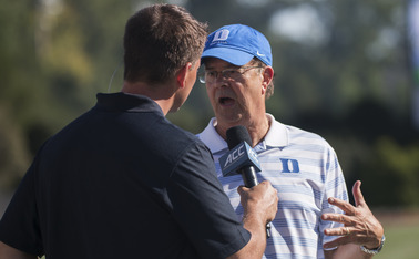 Head coach David Cutcliffe's Blue Devils want to be perennial contenders for the ACC's Coastal Division crown.